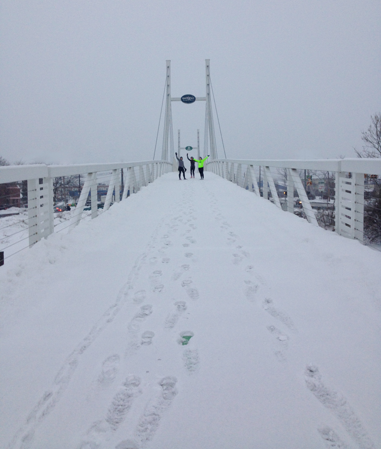 Winter Running Safety Tips   Running on Happy