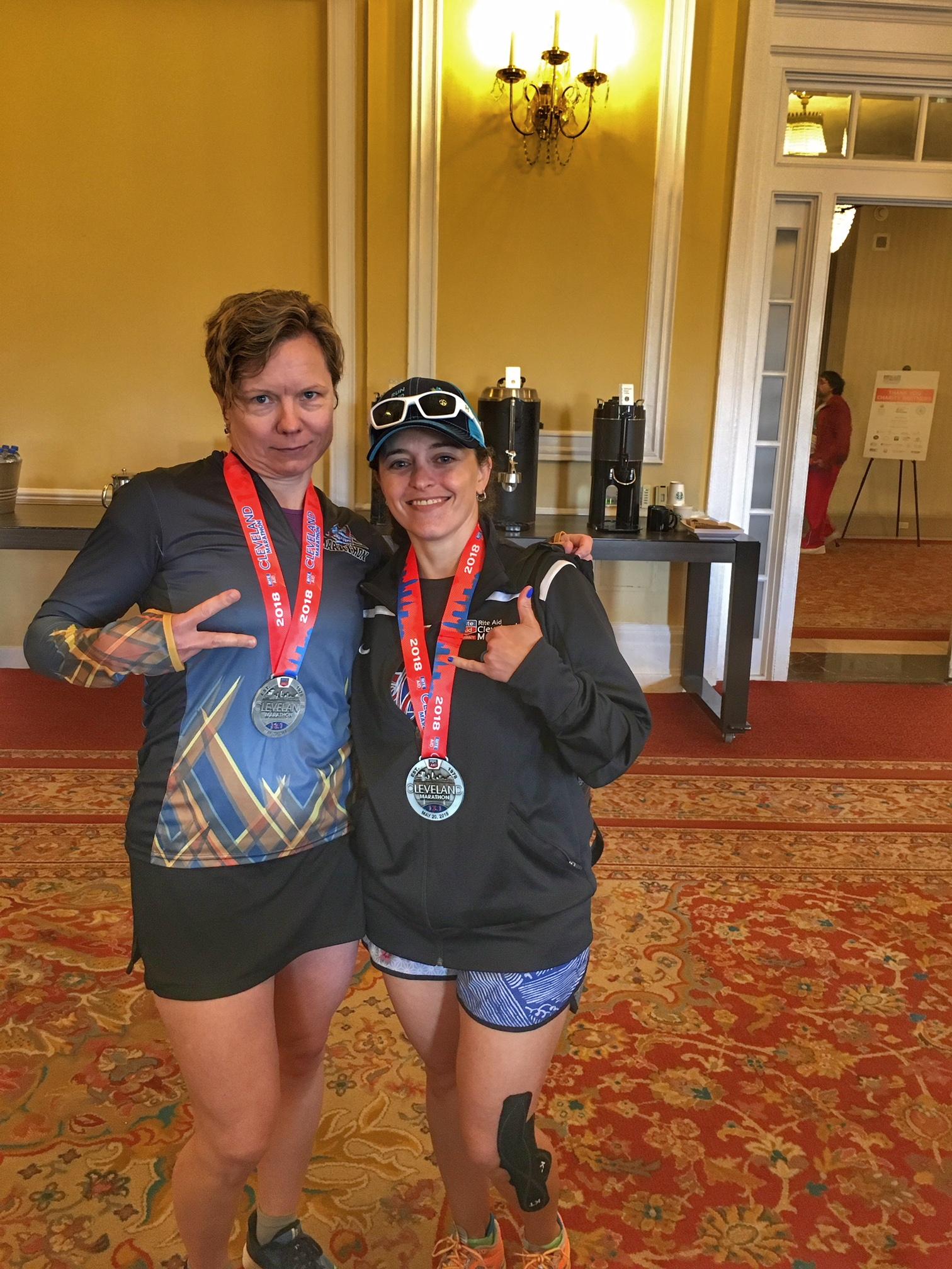 Cleveland Half Marathon Race Review   Running on Happy