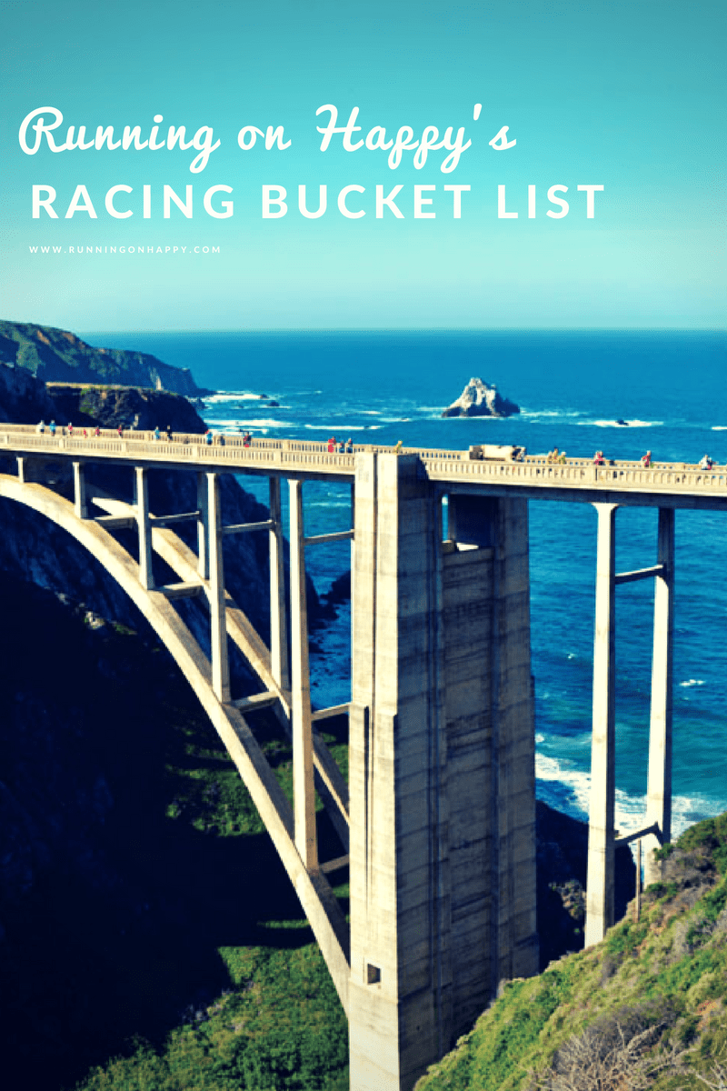 My racing bucket list isn't long or overly exciting. But there are several races I've been hoping to run for years. Maybe I'll start chipping away in 2019!