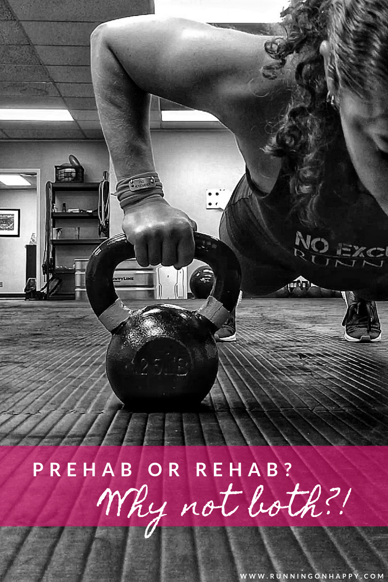 Prehab or Rehab? Why Not Both?! | Running Coaches Corner | Running on Happy