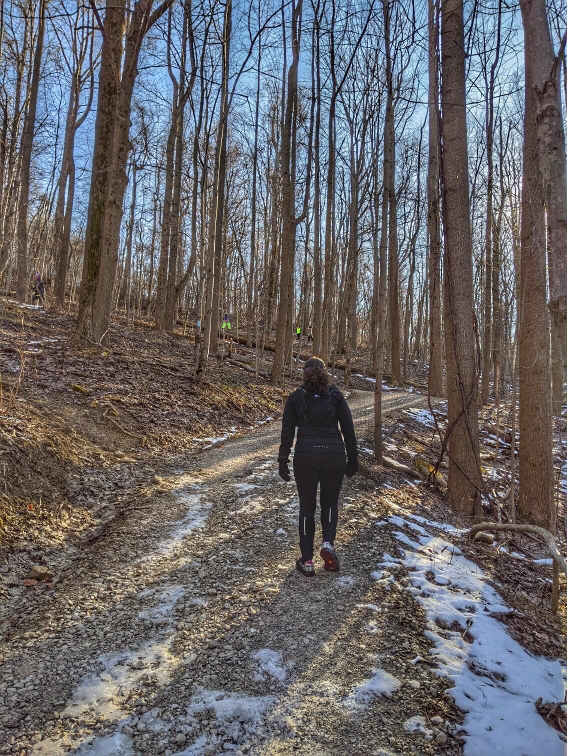 Olde Girdled Grit Trail Half Marathon Recap   Running on Happy