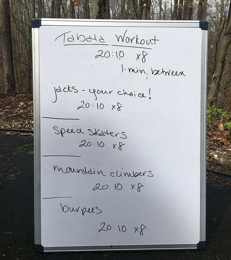 No Equipment Workouts for Home | Tabata Workout | Running on Happy