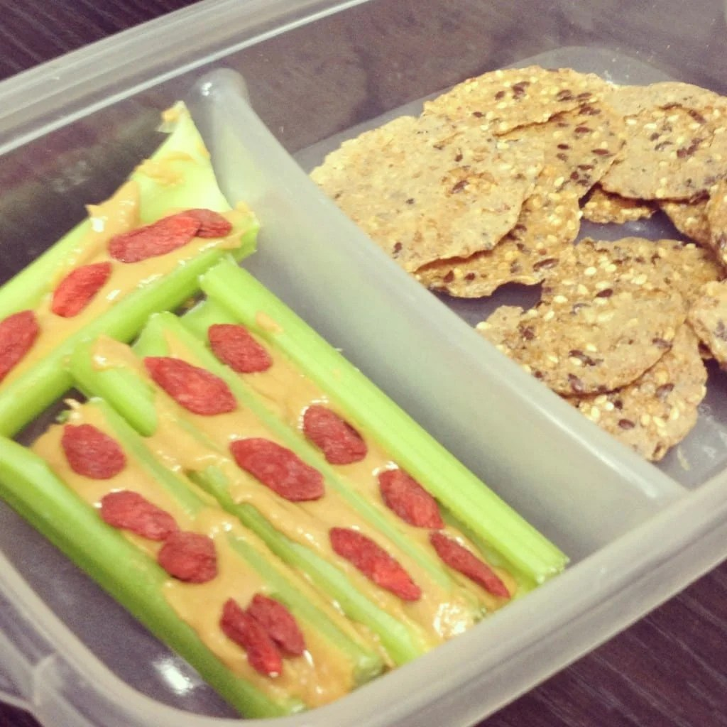 10 Quick & Easy Vegan Snack Ideas: Stock up on fresh fruits, vegetables, nut, seeds and whole grains to make sure there is always a healthy option on hand.