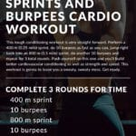 Sprints and Burpees Cardio Workout