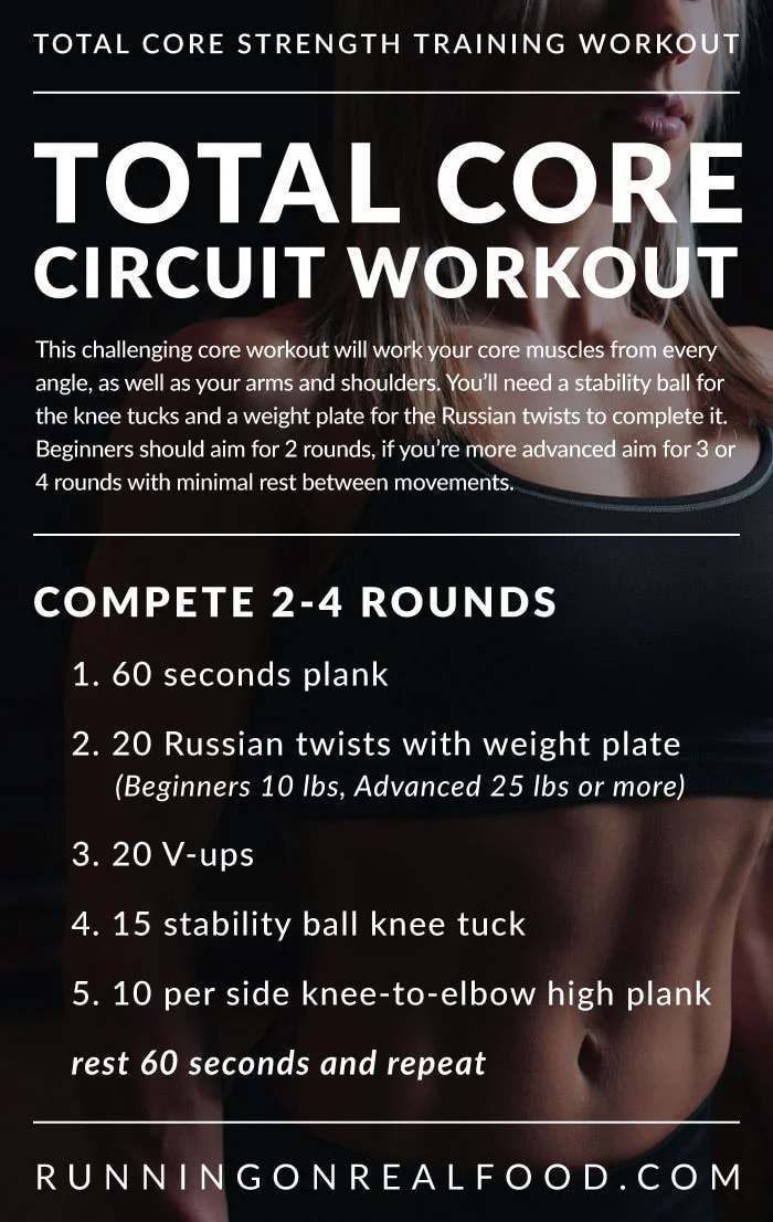 Total Core Circuit Workout