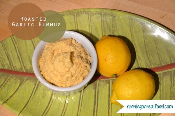 Roasted Garlic Hummus