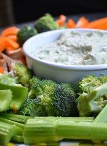 Raw Zucchini and Hemp Seed Hummus