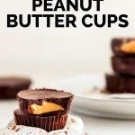 Easy Vegan Chocolate Peanut Butter Cups