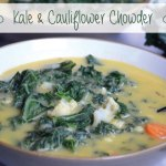 Kale and Cauliflower Chowder   Running on Real Food
