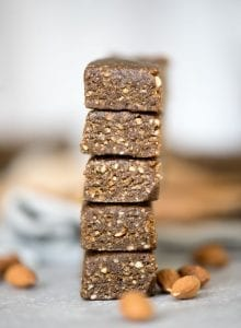 Vegan No-Bake Hemp Protein Bars