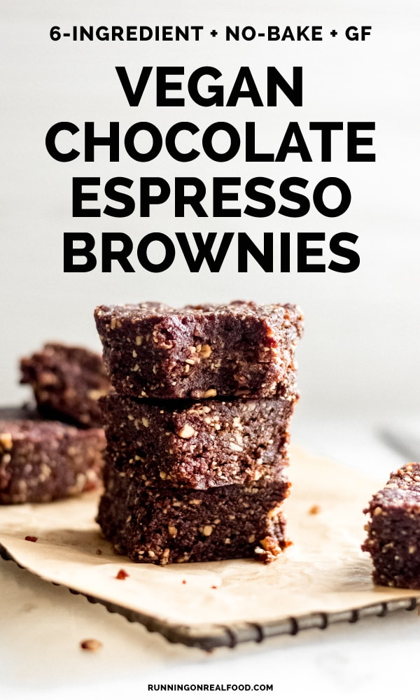 No-Bake Chocolate Espresso Brownies