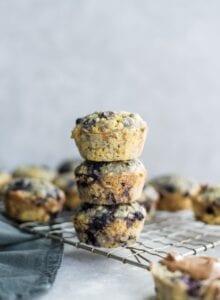 Gluten-Free Vegan Blueberry Chocolate Chip Muffiins