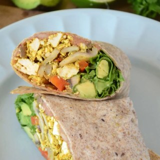 Amazing Healthy Vegan Breakfast Burritos - Easy to make, better than fast-food! Can be gluten-free.
