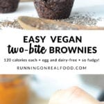 vegan two bite brownies