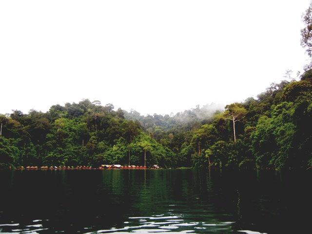 Floating Huts Chiew Lan Lake