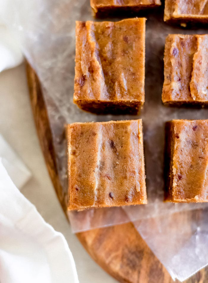 Vegan Pumpkin Pie Fudge - Running on Real Food