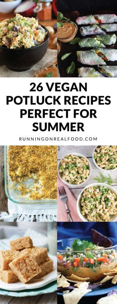 26 Vegan Potluck Recipes Perfect for Summer BBQs, Picnics and Beach Days