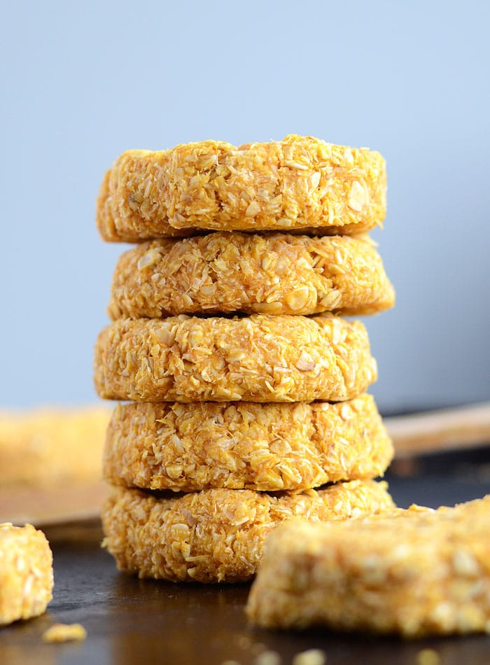 Healthy Sweet Potato Coconut Oat Cookies - Vegan + GF