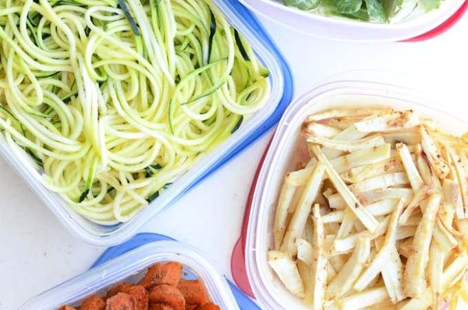 Vegan Meal Prep Ideas | week 1 | green curry