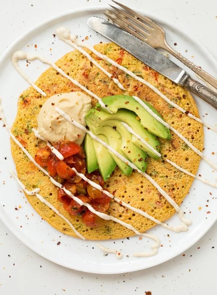 Healthy Omelette and More Vegan Breakfast Ideas