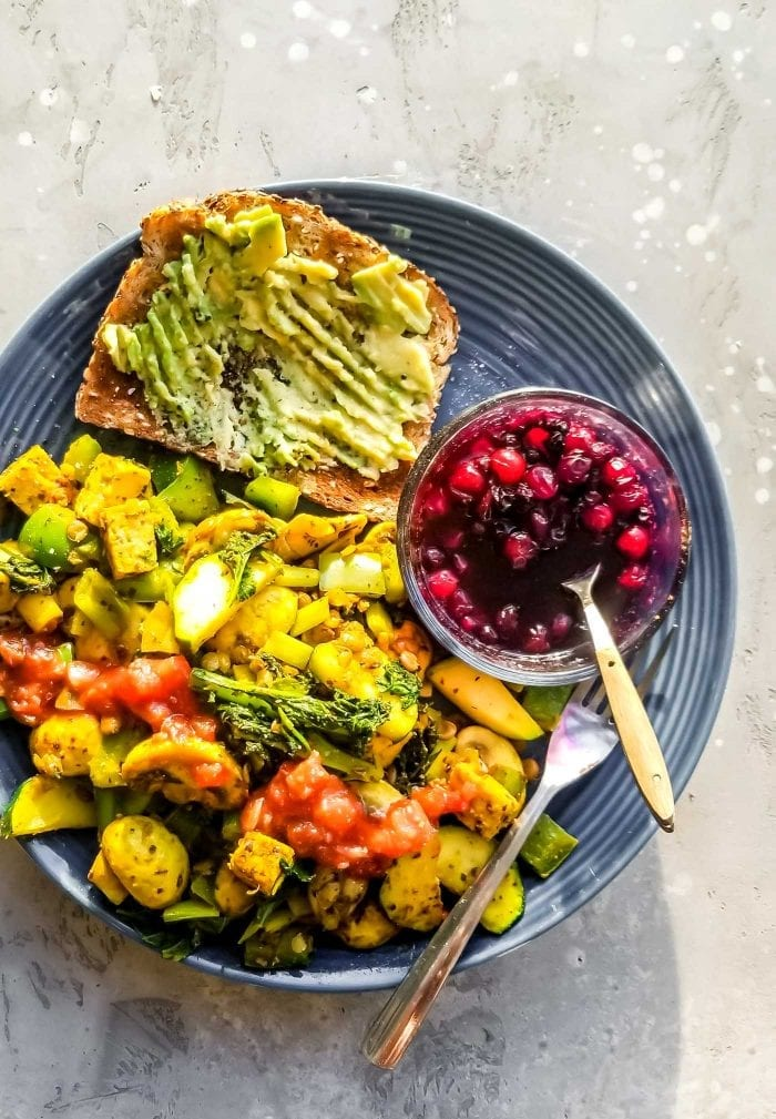 What do Vegans Eat for Breakfast from Running on Real Food