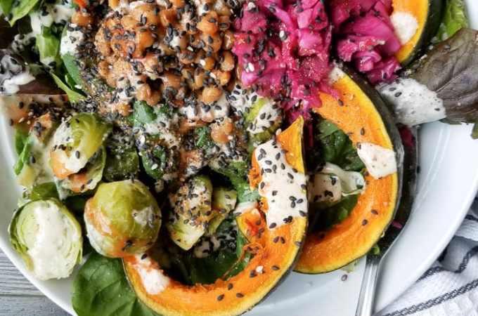 Vegan Meal Prep Ideas | Week 5 | Coconut Squash Curry, Raw Hemp Seed Brownies, Lentils