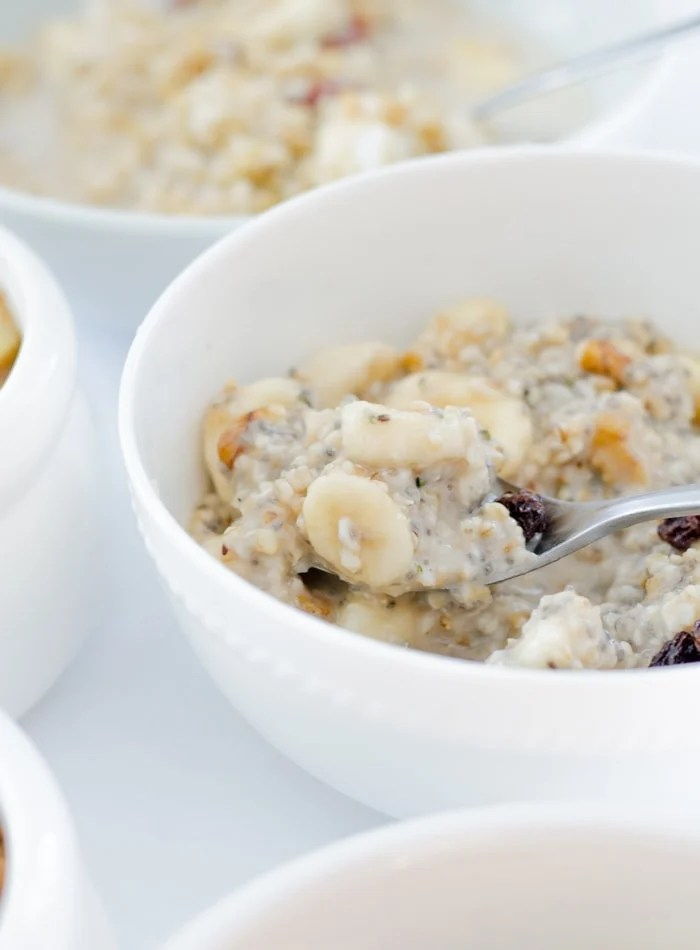 Whole Grain Porridge 5 Delicious Healthy Recipes | vegan and gluten-free