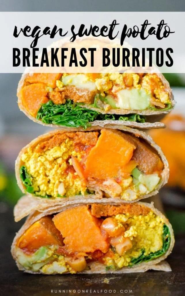 Healthy Vegan Sweet Potato Burrito