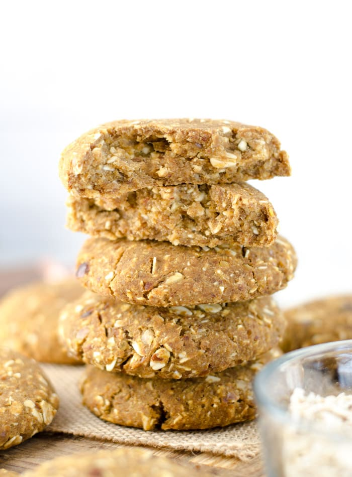 Vegan Chickpea Breakfast Cookies Gluten-free
