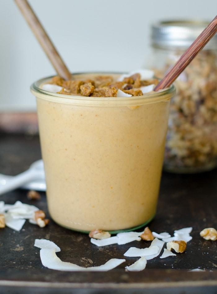 Peanut Butter Pumpkin Smoothie