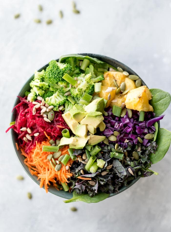 Rainbow Salad How To Make A Healthy Everyday Superfood Salad
