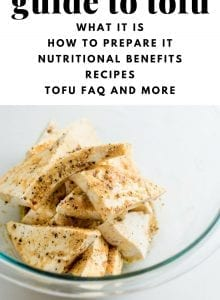 Guide to Tofu and Tempeh