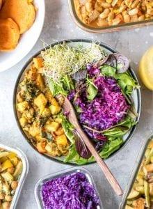 Vegan Meal Prep Ideas   week 9   black pepper tofu