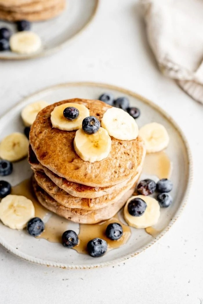 Healthy Vegan Buckwheat Pancakes Running On Real Food