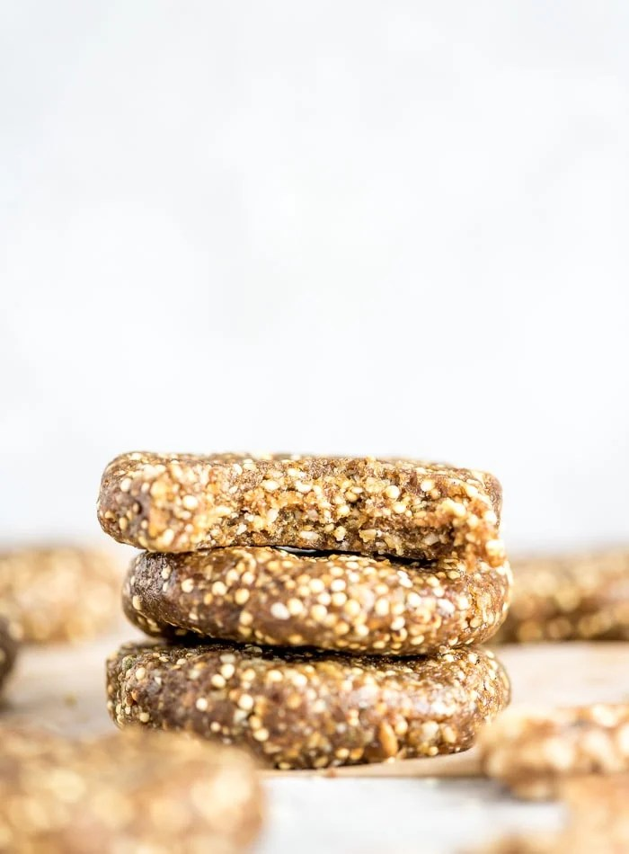Healthy No-Bake Cookies - Running on Real Food