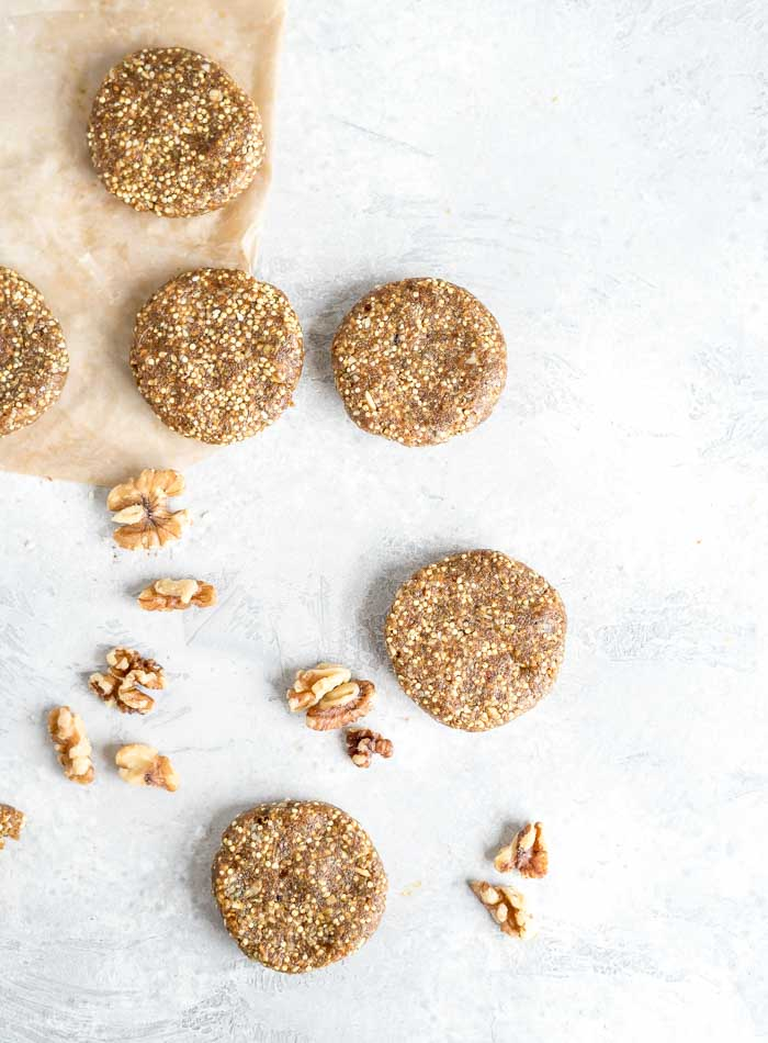 Vegan No-Bake Superfood Cookies - Running on Real Food