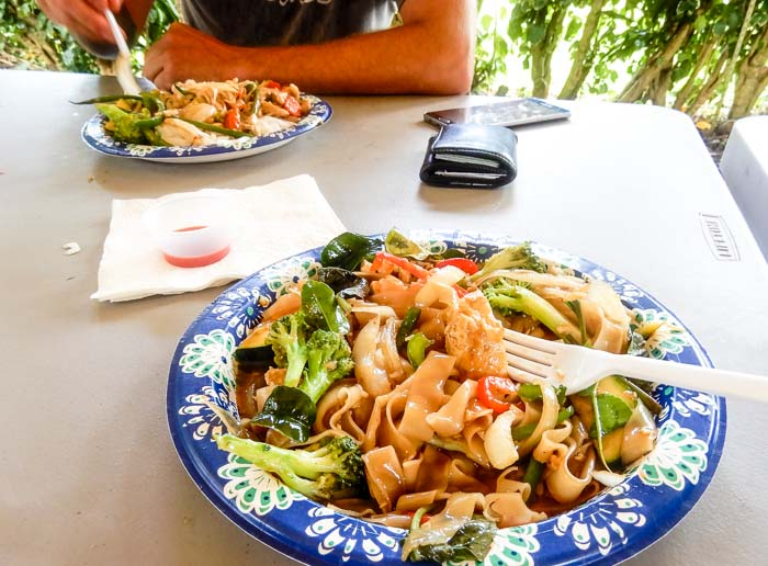 Vegan Food in Hana, Maui - Running on Real Food