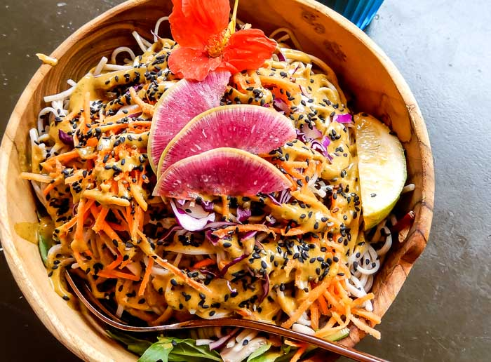 Where to Eat Vegan Food in Kaanapali, Maui | Running on Real Food