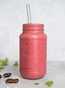 Strawberry Raspberry Smoothie Recipe - Running on Real Food
