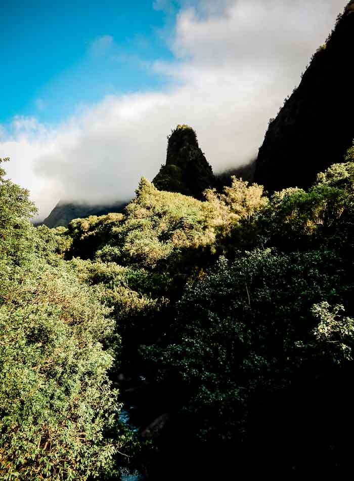 What To Do on Maui - Iao State Park - Running on Real Food