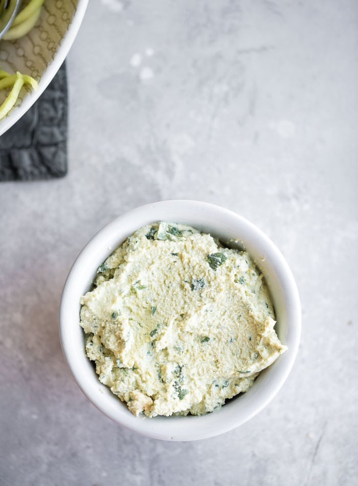 Easy Vegan Tofu Ricotta - Running on Real Food Recipes