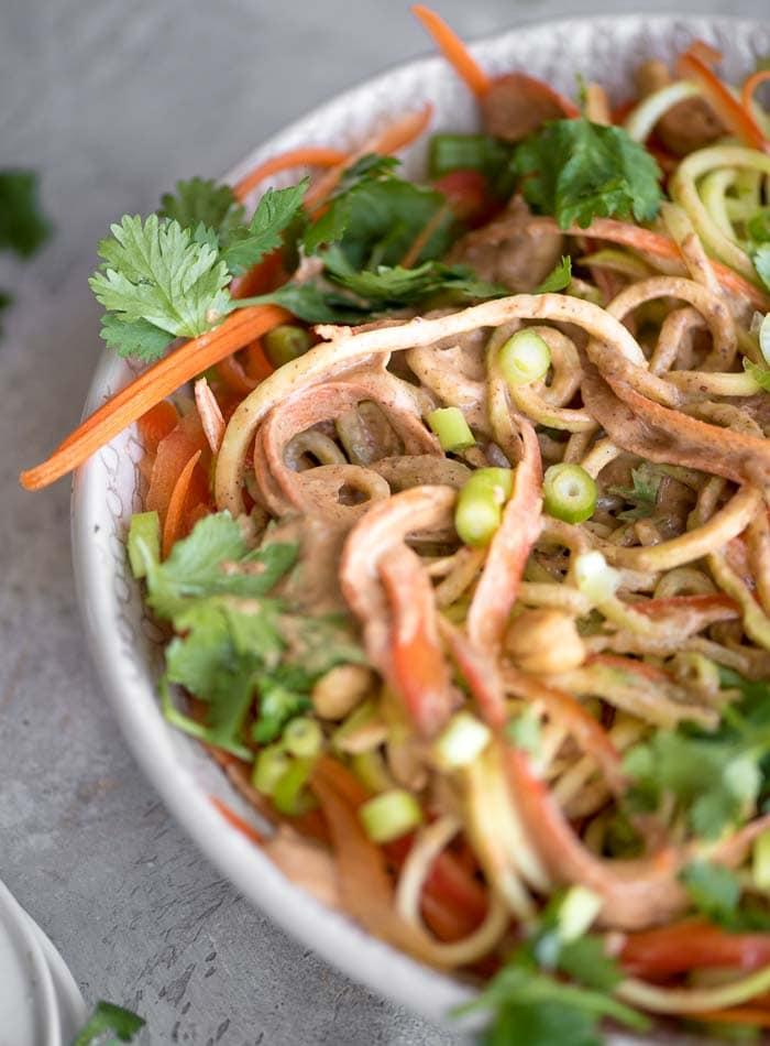 Almond Vegan Pad Thai Sauce - Running on Real Food
