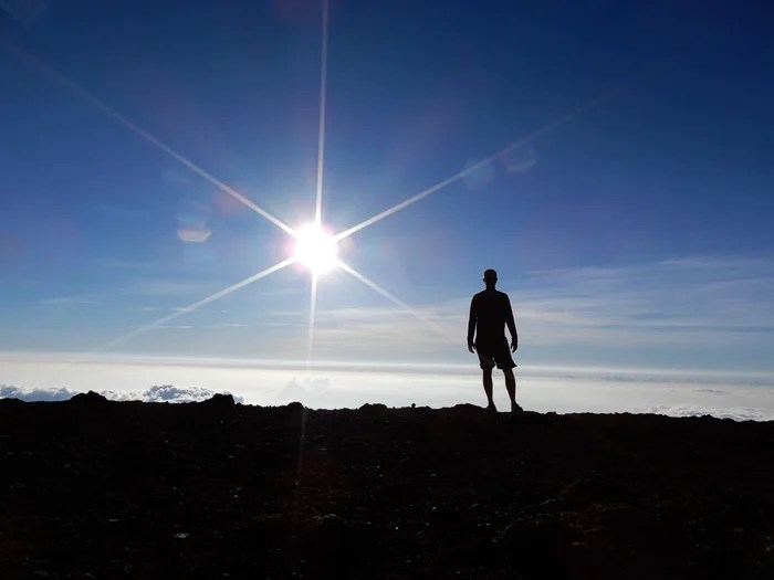Haleakala Crater on Maui - Running on Real Food