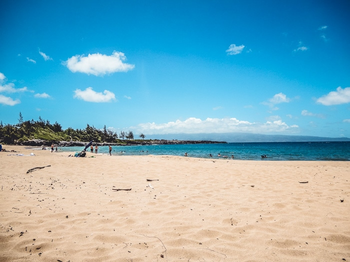 Beach Beaches: DT Fleming Beach in Kaanapali, Maui - Running on Real Food