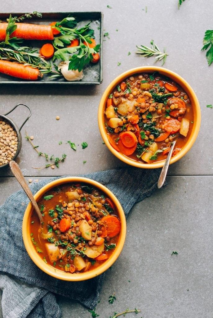 Easy One Pot Lentil Soup