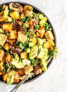 Easy Breakfast Sweet Potato Hash Recipe - Running on Real Food