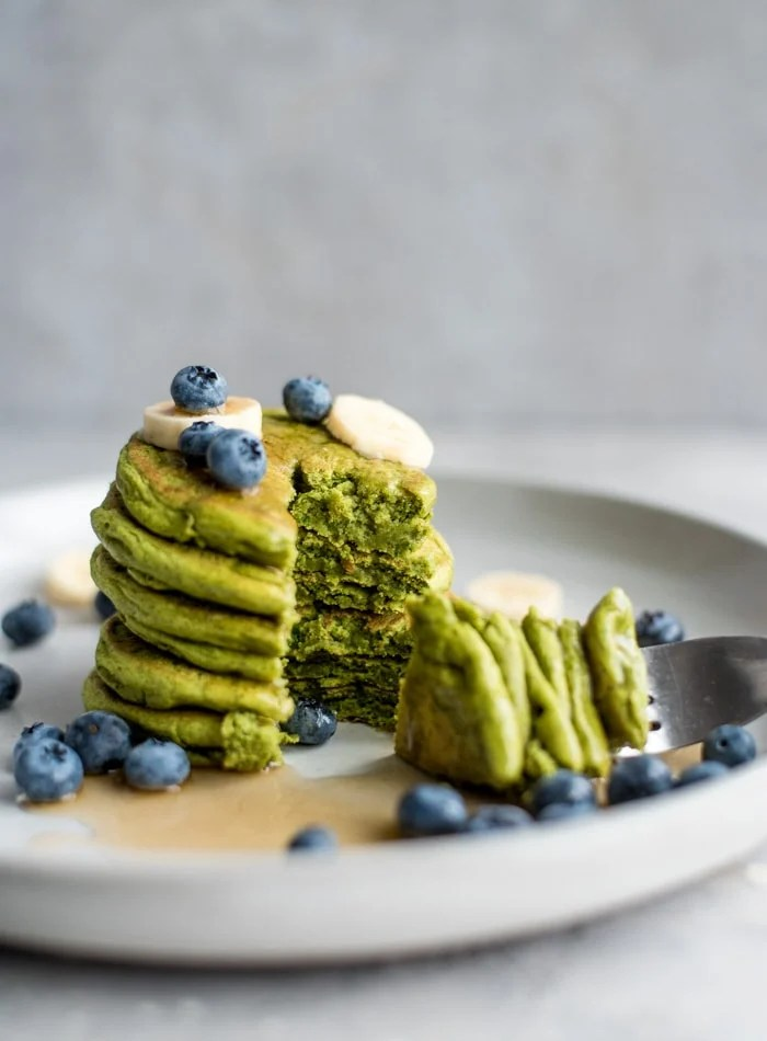 Gluten-Free Vegan Protein Pancakes - Running on Real Food