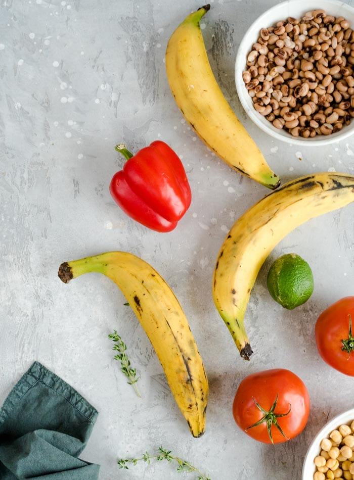 How to Cook Plantains in a Plantain Curry - Running on Real Food