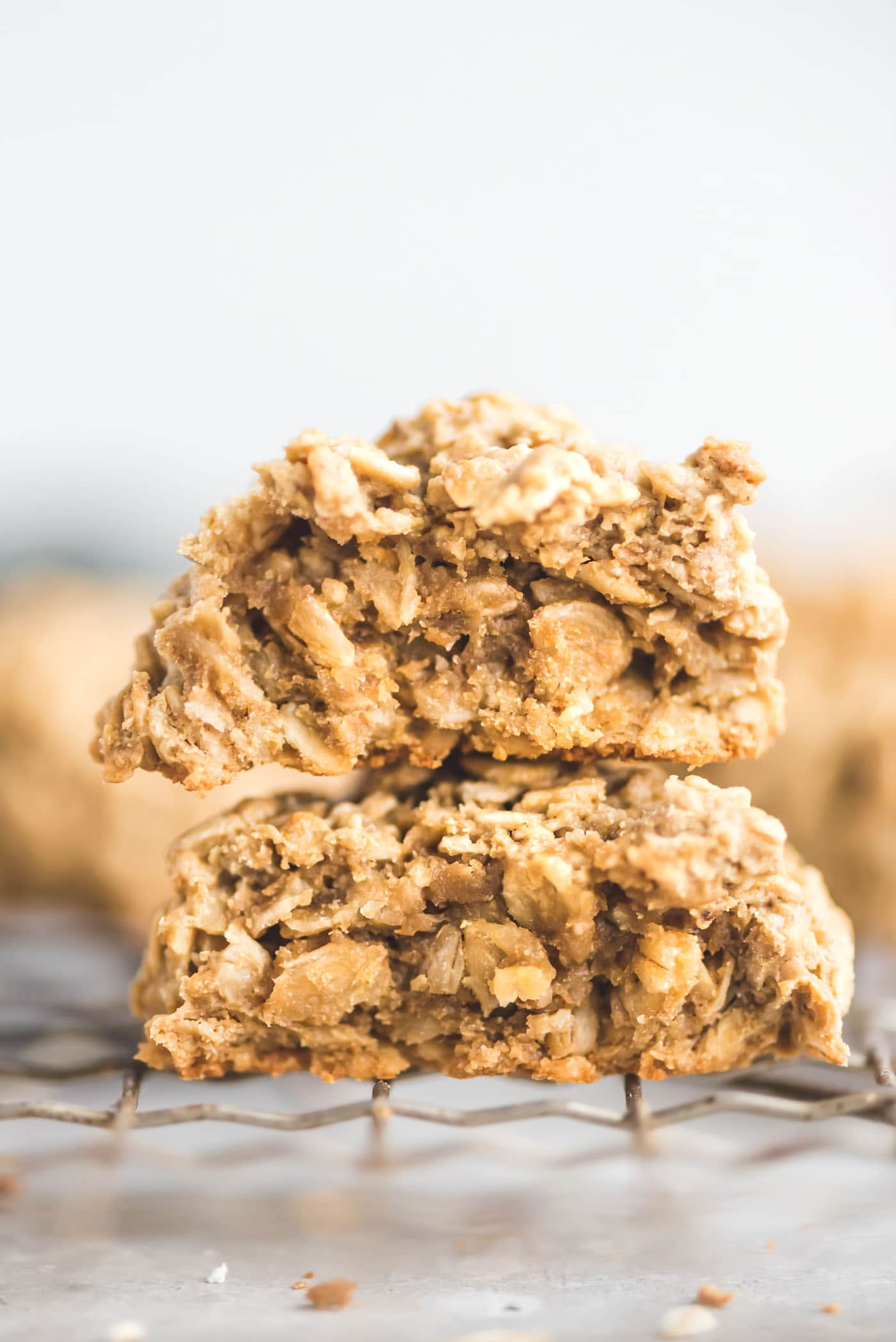 Easy Vegan Gluten-Free Oatmeal Cookie Recipe - Running on Real Food
