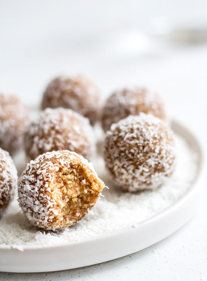 Salted Caramel Coconut Bliss Balls and More Easy Vegan Desserts